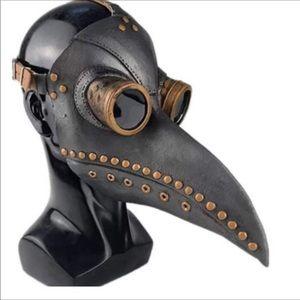 Plague Doctor Mask Long Nose Bird Beak Bird Mask